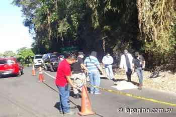 Encuentran cadáver de joven en carretera a Apulo - Diario La Página