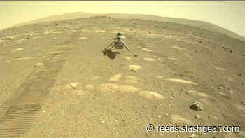 Ingenuity helicopter is officially sitting on the surface of Mars