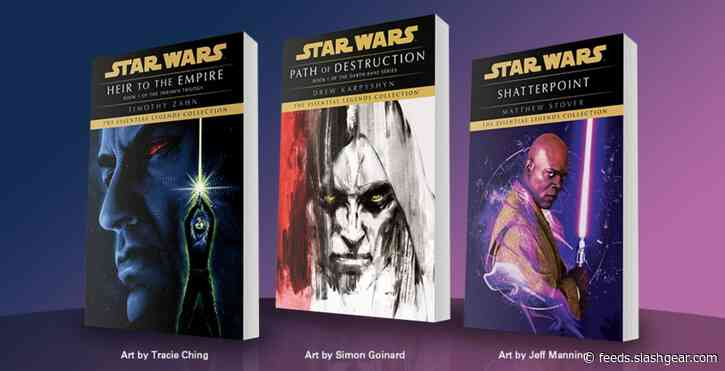Star Wars classic books will be re-released with stunning new artwork