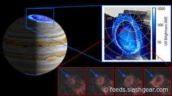 Jupiter's auroras discovered by NASA Juno spacecraft