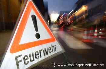 Gasaustritt in Filderstadt: Baggerarbeiter beschädigt Erdgasleitung - esslinger-zeitung.de