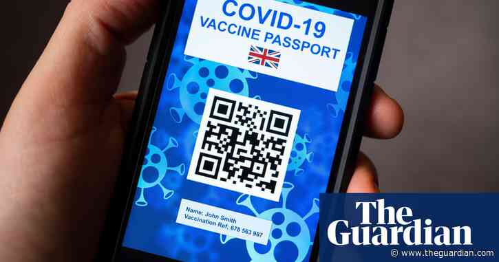 Covid certificates on the cards for use in England since December