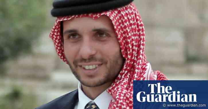 Jordan's government accuses Prince Hamzah of plot to destabilise country
