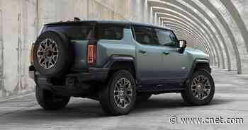This is the 2024 GMC Hummer SUV     - Roadshow