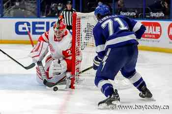 Wings end drought in Tampa with 5-1 win over the Lightning