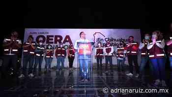 #Juarez   Arranca campaña Juan Carlos Loera en Ciudad Juárez - Adriana Ruiz