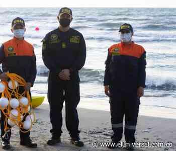 En Coveñas delimitan playas para garantizar seguridad a bañistas - El Universal - Colombia