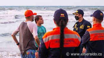 Delimitan la zona de bañistas en Coveñas - EL HERALDO