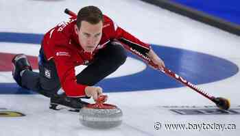 Canada's Bottcher suffers first loss at world men's curling championship