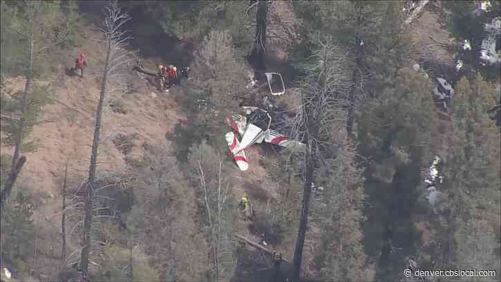 Search Crews Find Pilot Dead At Site Of Small Plane Crash In Rugged Area West Of Deckers