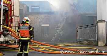 Guidel - Incendie en centre-ville de Guidel : une enquête ouverte - Le Télégramme