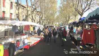 Sur le marché à Agde, le nouveau confinement fait causer - Midi Libre