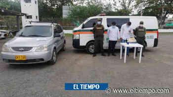 Dos hombres utilizaban carro fúnebre para transportar coca - El Tiempo