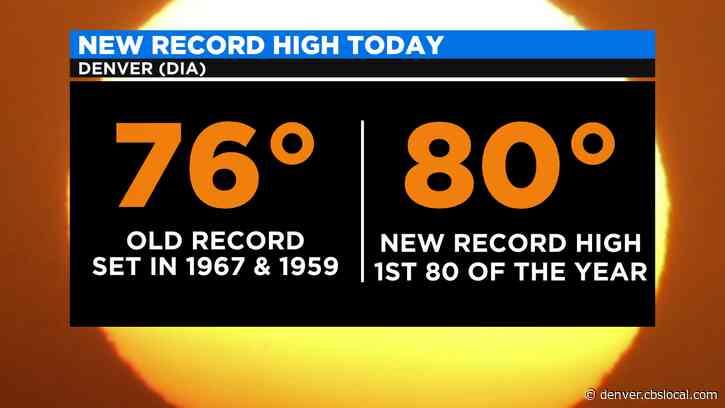 Denver Weather: Easter Record Breaker