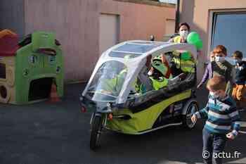 Essonne. À Mennecy, les enfants des centres de loisirs se déplacent en vélobus - Actu Essonne