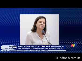 Em Brasilia, o fórum parlamentar catarinense tem novo comando de Ângela Amin - ND