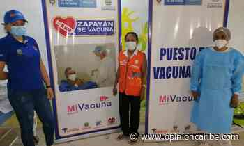Alcaldesa de Zapayán entrega material logístico de promoción de vacunación COVID-19 - Opinion Caribe