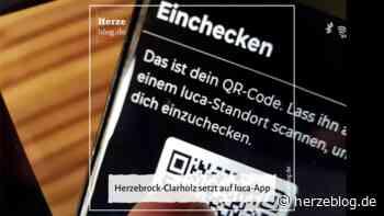 Herzebrock-Clarholz setzt auf luca-App – Herzeblog.de - Herzeblog.de