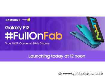 Samsung Galaxy F12 and Galaxy F02s launch in India today at 12pm