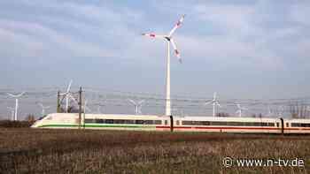Aus Windenergie vor Helgoland: Strom-Mix der Bahn wird grüner