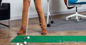 Perfect your putt from home with these golf gadget deals - Mashable