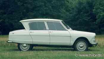 Frankreichs schräges Volksauto: Citroën Ami 6 - die Karosserie als Kunstwerk