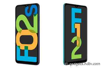 Samsung Galaxy F02s, Galaxy F12 With Waterdrop-Style Display Notches Launched in India: Price, Specifications