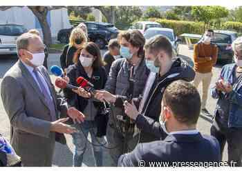 LE PRADET : Le préfet du Var en visite à la CPAM et à la cellule contact tracing - La lettre économique et politique de PACA - Presse Agence