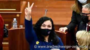 Vjosa Osmani zur Präsidentin des Kosovo gewählt