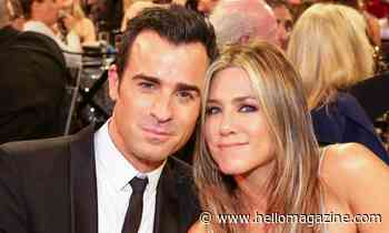 Jennifer Aniston shows support for ex-husband Justin Theroux in latest post - HELLO!