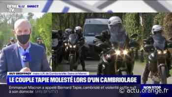 """Guy Geoffroy, maire de Combs-la-Ville: les époux Tapie """"vont le moins mal possible"""" après le cambriolage et l'agression - Actu Orange"""
