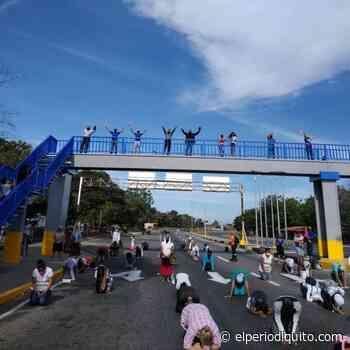 Diario El Periodiquito - Iglesias Cristianas de Palo Negro se arrodillaron en oración - El Periodiquito