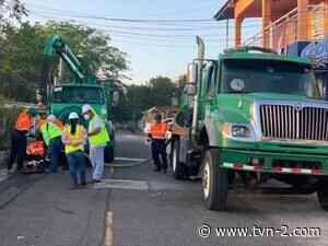 Realizan limpieza en las redes de alcantarillado sanitario en Vista Alegre de Arraiján - TVN Noticias