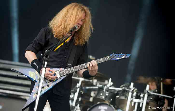 """Megadeth's Dave Mustaine gives update on new album: """"One song left to sing"""""""