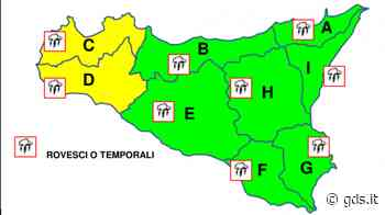 Pasquetta con maltempo in Sicilia, allerta gialla e piogge a Palermo e Trapani - Giornale di Sicilia