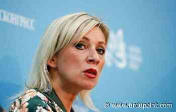 US Diplomats Were Not Detained in Severodvinsk - Russian Foreign Ministry spokeswoman Maria Zakharova - UrduPoint News