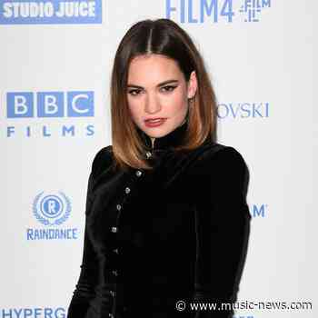 Lily James confirms new romance with rocker Michael Shuman