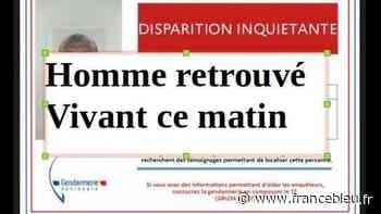 Indre-et-Loire : l'homme disparu dimanche dernier à Luynes a été retrouvé vivant - France Bleu