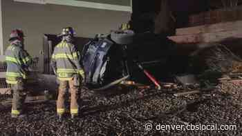 One Person Hurt When Car Hits Home In Lone Tree