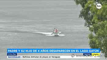 Retoman búsqueda de dos personas reportadas como desaparecidas en lago de Escobal - TVN Noticias