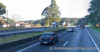 Carreta tomba e interdita BR-116 em Campina Grande do Sul BR-116 Ponte - Mobilidade Curitiba