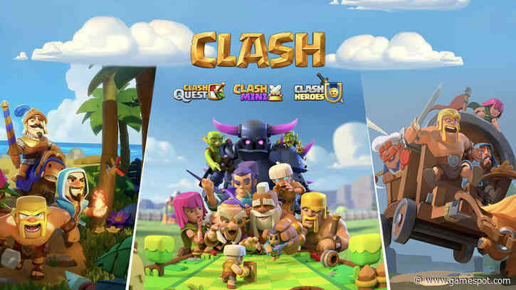Three More Clash Of Clans Games Announced