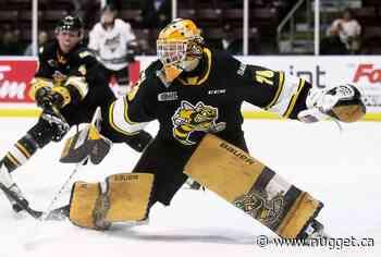 Corbeil goaltender Ben Gaudreau named to national U18 team - The North Bay Nugget