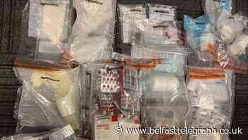 Man arrested after drugs worth £10,000 discovered in south Belfast property