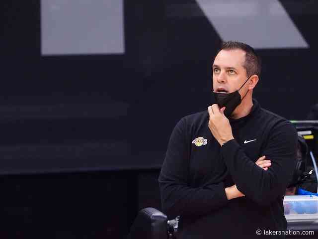 Frank Vogel Says Lakers Are Not Concerned With Western Conference Standings