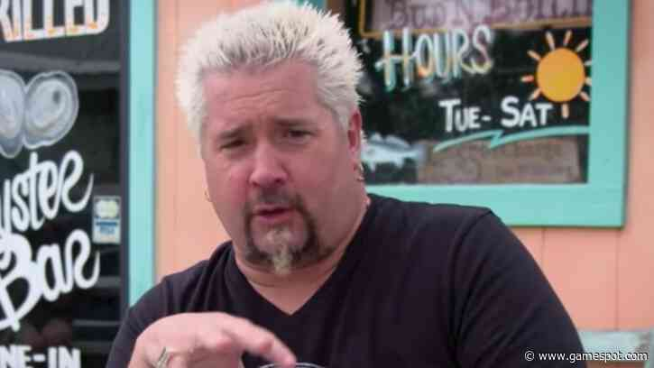Guy Fieri Reaches New Deal With Food Network For 3 More Years