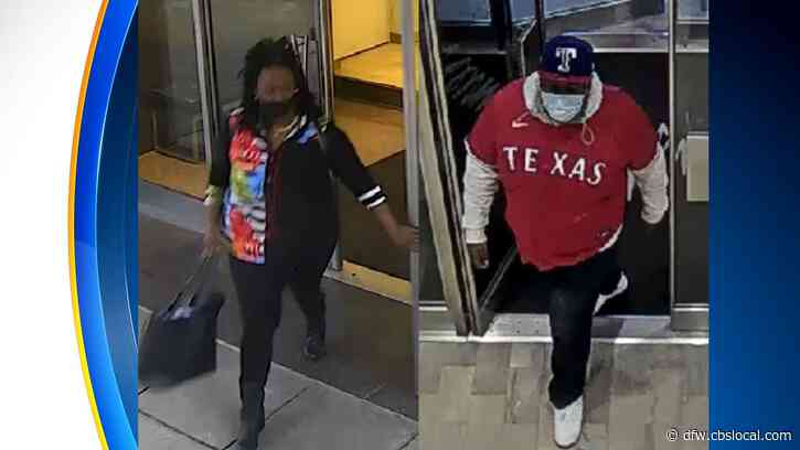 Dallas Police Need Help Identifying Man, Woman Who Stole From Neiman Marcus In Downtown