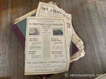 New Westminster history comes alive in a 1925 newspaper - Vancouver Sun