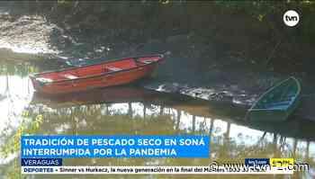 La pandemia trastoca la tradición del pescado seco en Soná - TVN Noticias