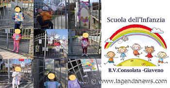 Gli auguri di Buona Pasqua dei bambini della Scuola dell'Infanzia Beata Vergine Consolata di Giaveno - http://www.lagendanews.com